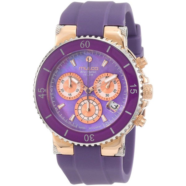 Mulco Women's 'Bluemarine' gold plated steel Watch 13813772