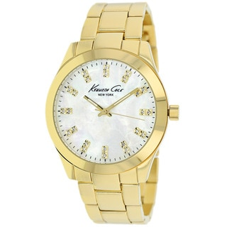 Kenneth Cole Women's KCW4027 Classic Goldtone Stainless Steel Watch