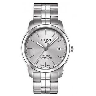 Tissot Men's T0494071103100 Silver Dial PR100 Watch