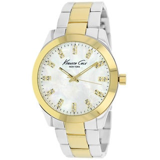 Kenneth Cole Women's KCW4028 Classic Two-Tone Stainless Steel Watch