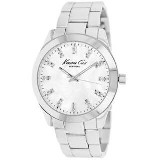 Kenneth Cole Women's KCW4026 Classic Silvertone Stainless Steel Watch