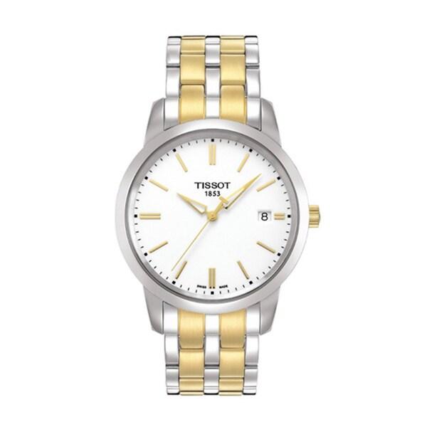 Tissot Men's T0334102201101 Classic Dream White Classic Watch