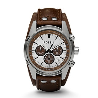 Fossil Men's CH2565 Decker Brown Leather Strap Watch