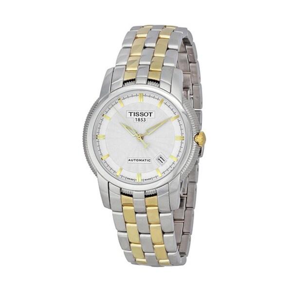 Tissot Men's T97248331 T-Ring Two-tone Bracelet Chronograph Watch