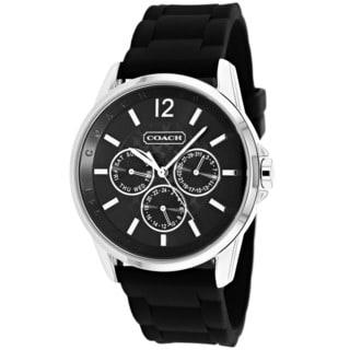 Coach Women's 14501878 Black Signiture Sport Chronograph Watch