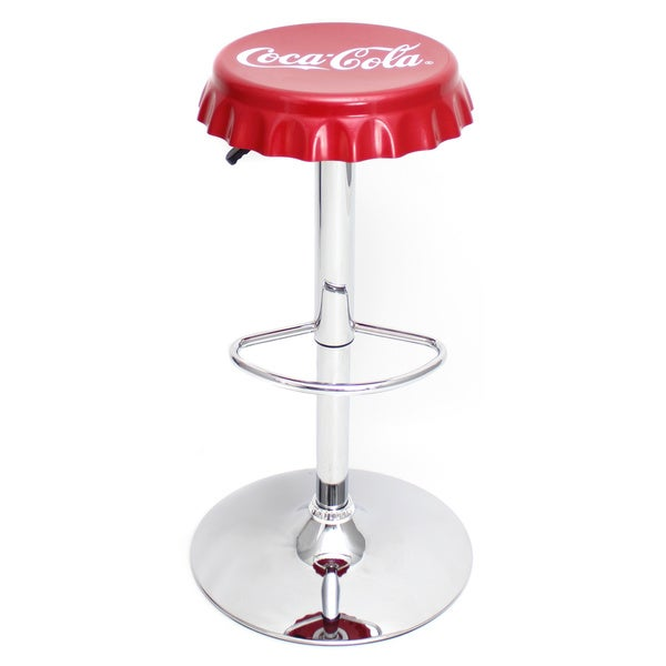 Coca-Cola Bottle Cap Bar Stool