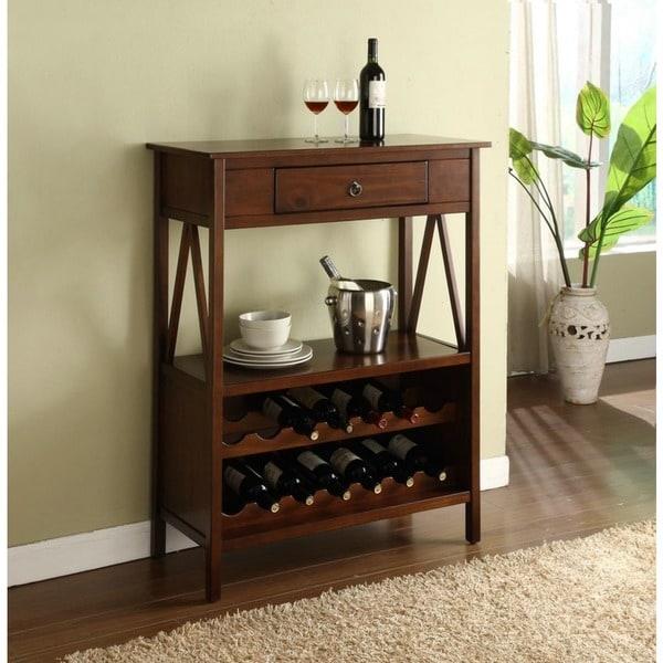 Linon Titian Wine Cabinet