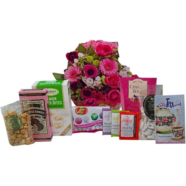 Blooming Tea/ Sweets and Treats Gift Bag