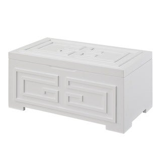 Powell Enna White Jewelry Box