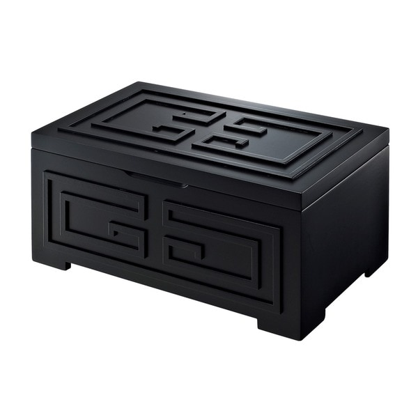 Bombay Outlet Enna Black Jewelry Box