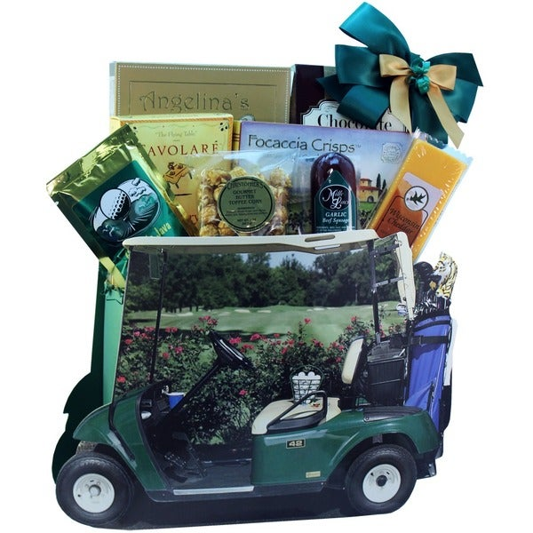 Gone Golfing Gourmet Snack Sampler Gift Basket 13814129