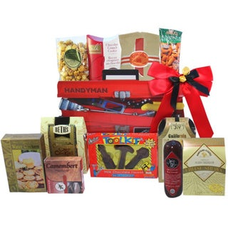 Handyman's Toolbox of Treats Gourmet Snacks Gift Basket 13814130
