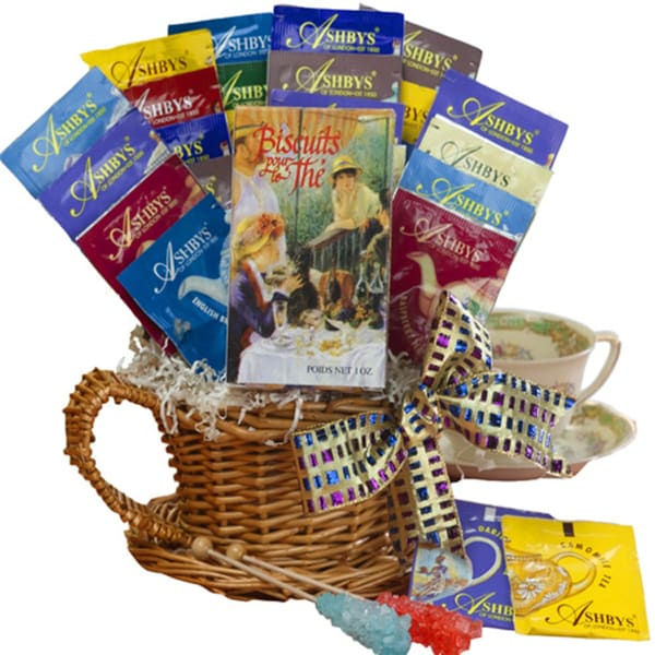 A Spot of Tea Sampler Gift Basket