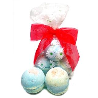 Muscle-soak Pink Salt Bath Bomb Spa Gift Set (Set of 3)