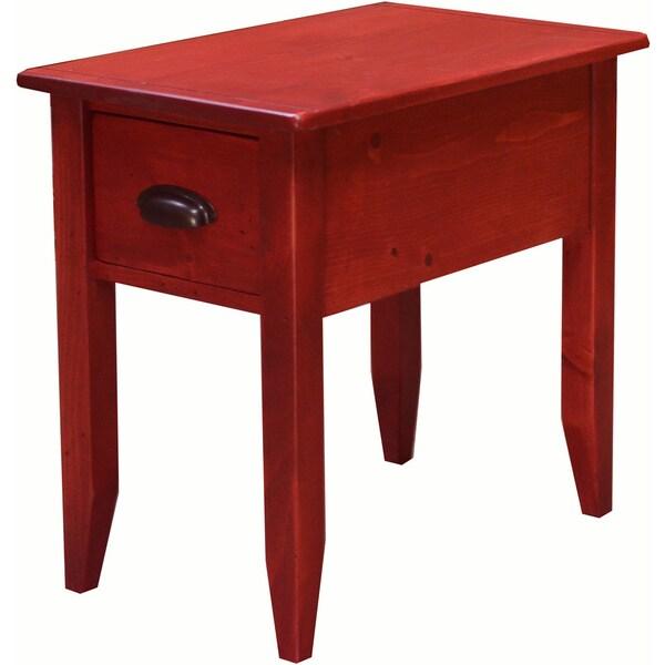 Jefferson Side Table Rouge