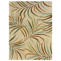 Bombay Outlet Lanai Ivory Area Rug (8' x 10')