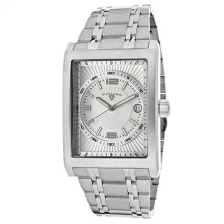 Swiss Legend Men's Limousine SL-40012-22S Silver Dial Stainless Steel Watch