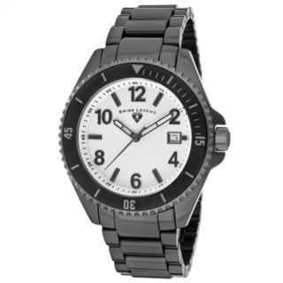 Swiss Legend Men's Neptune SL-11528-BKWBA White Dial Watch