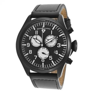 Swiss Legend Men's Pioneer SL-30332-BB-01-WA Black Watch