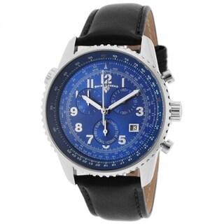 Swiss Legend Men's Skyline SL-30721-03-BLK Blue Dial Watch