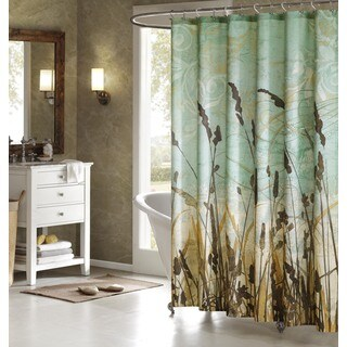 Artology Fields Moisture Wicking Shower Curtain