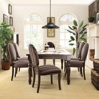 INSPIRE Q Kensington Baulster 7-piece Round Dining Set