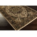 Meticulously Woven Bulloch Traditional Polypropylene Area Rug (6'6 x 9'8)
