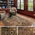Meticulously Woven Bulloch Traditional Polypropylene Area Rug (10' x 13')