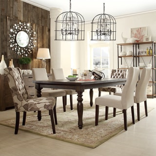 INSPIRE Q Kensington Baulster 7-piece Hostess Dining Set