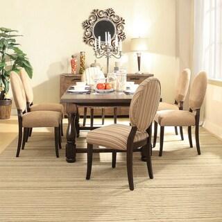 INSPIRE Q Huntington Trestle Baluster 7-piece Extending Dining Set
