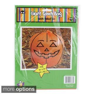 Halloween Pumpkin Plastic Leaf Bags