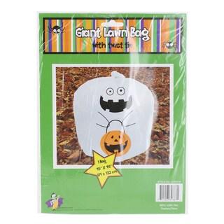 Halloween Ghost Plastic Leaf Bag