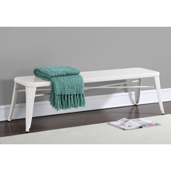 Tabouret White 60 Inch Indoor Bench Overstock Shopping Great Deals On Benches