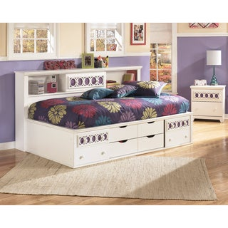 Signature Design by Ashley Zayley White Storage Bed