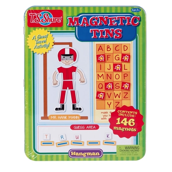 T.S. Shure Hangman Magnetic Tin Playset