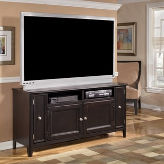 Signature Design by Ashley Carlyle Large Almost Black TV Stand