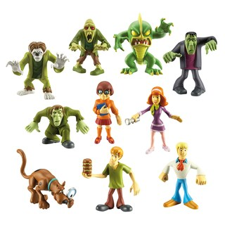 Scooby Doo Mystery Mates, 10 piece Pack