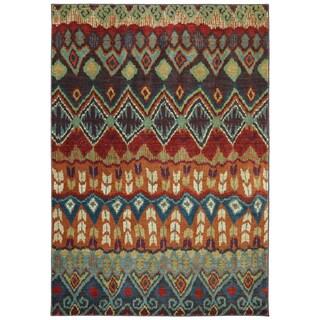 Woven Karastan Tashkent Ginger Bread Nylon Rug (8' x 10')