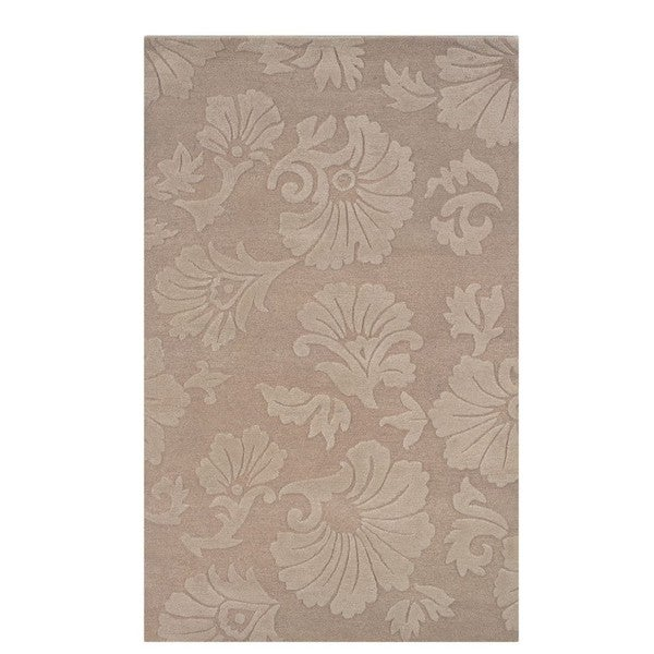 Linon Ashton Taupe/ Cream Area Rug (1'10 x 2'10)