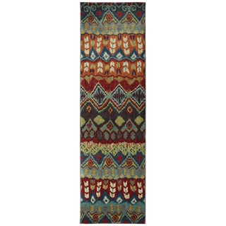 Karastan Tashkent Ginger Bread Woven Rug (2'4 x 8'3)