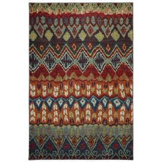 Karastan Tashkent Ginger Bread Woven Rug (2'11 x 4'8)