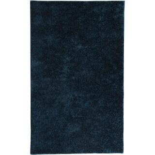Hand-tufted Karastan UBeR Shag Abyss Polyester Rug (5' x 8')