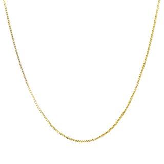 Roberto Martinez 14k Gold Box Chain Necklace (14-inch