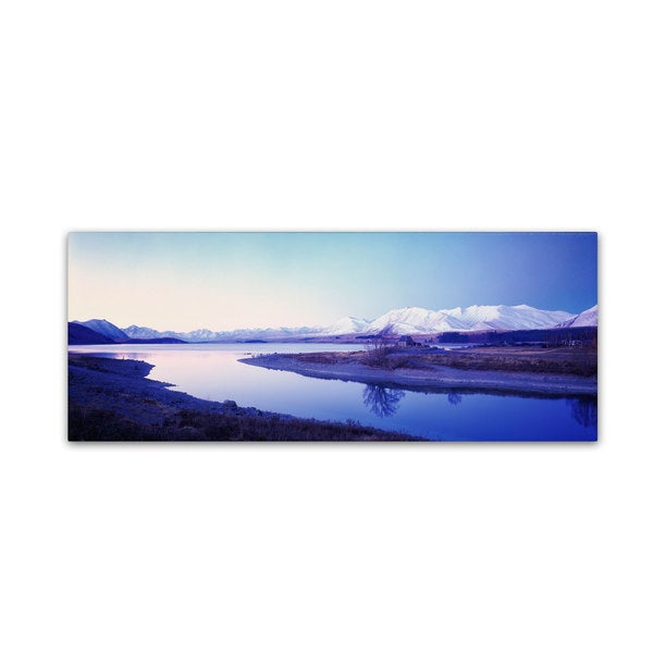 David Evans 'Lake Tekapo Winter-NZ'
