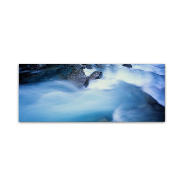David Evans 'Hollyford River Rapids-NZ'