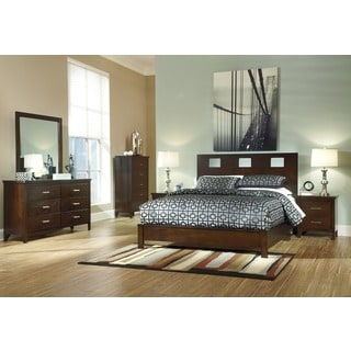 Signature Design by Ashley Winlane Brown Panel Bed