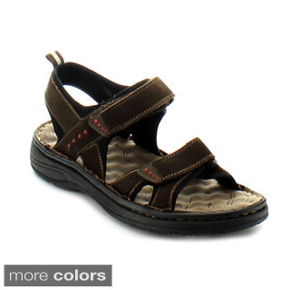 J's Awake Men's 'Marcos-06' Men's Backstrap Sandals