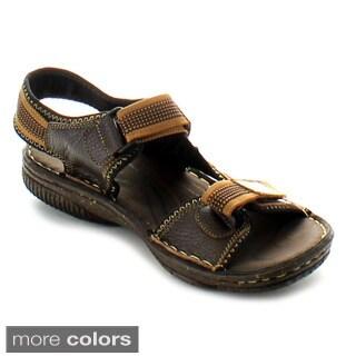 J's Awake Men's 'Marcos-03' Casual Backstrap Sandals