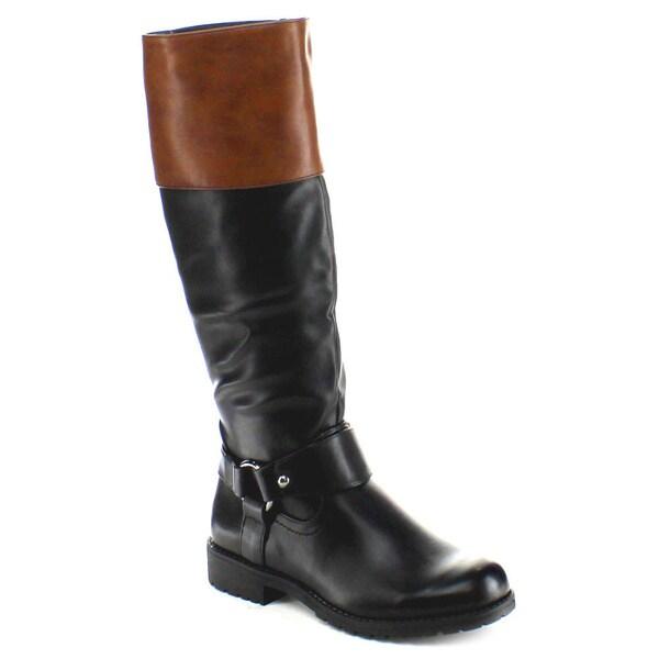 Nature Breeze Women's 'Vivienne-06' Knee-high Riding Boots
