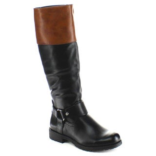 Nature Breeze Women's 'Vivienne-06' Knee-high Riding Boots